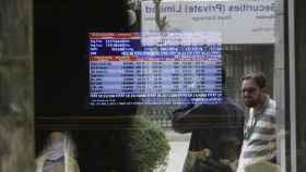 Imagen de archivo de un mercado de valores internacional.
