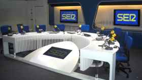 Estudio de radio de Cadena Ser en Madrid, en una imagen de archivo.