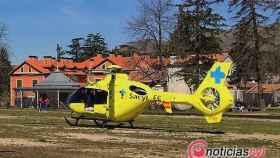 Helicóptero Sanitario Sacyl