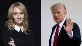 J. K. Rowling y Donald Trump.