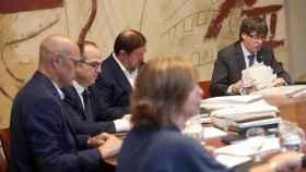 Reunión del Govern este martes, presidida por Puigdemont