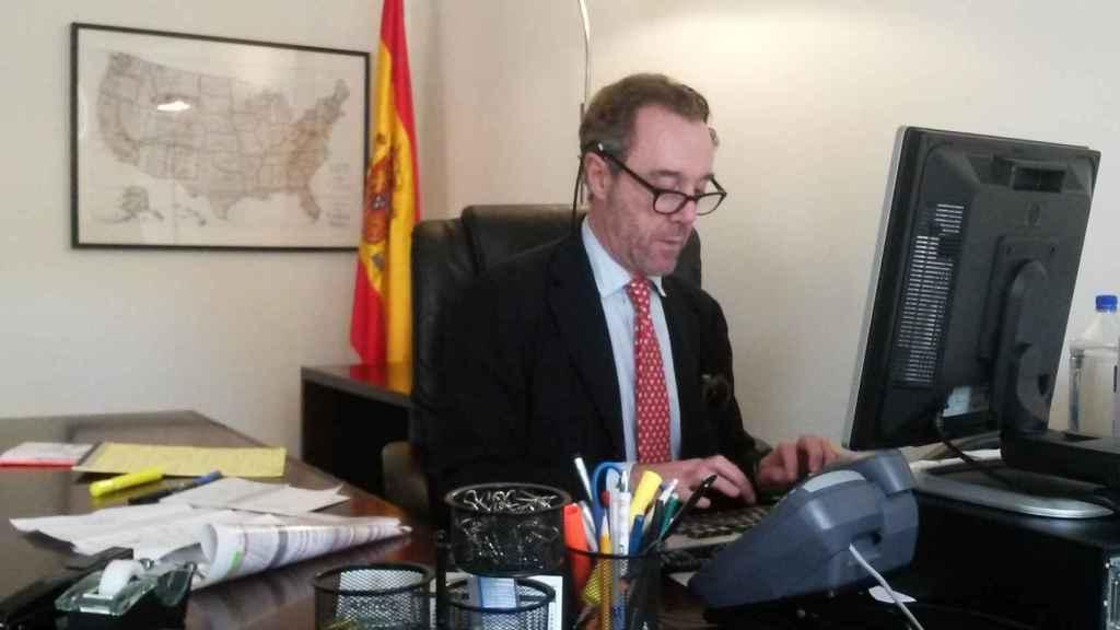 Enrique Sardá Valls, Cónsul español en Washington
