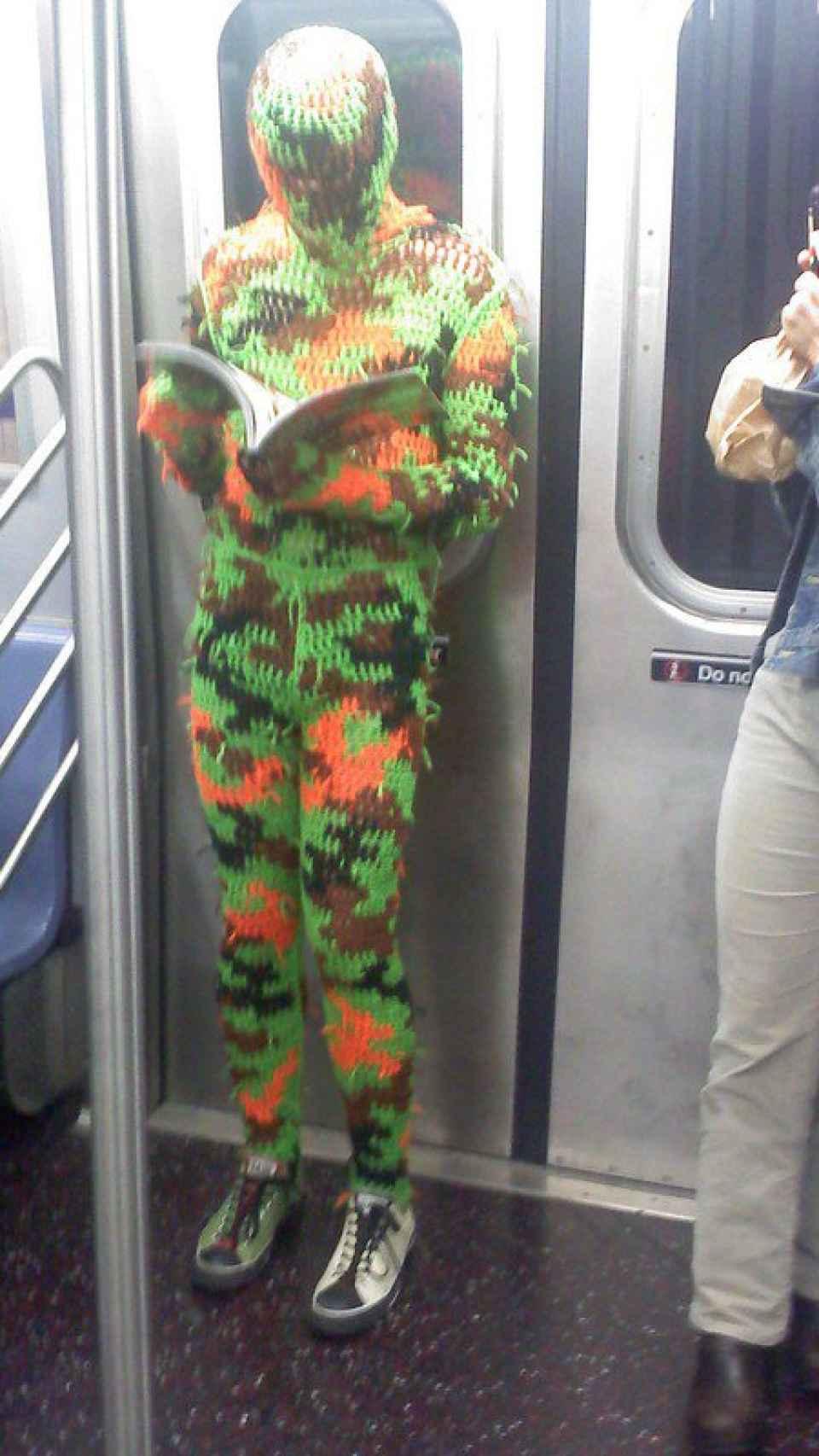 Disfraz metro NYC