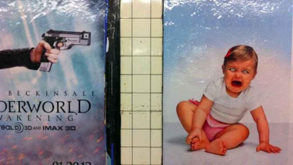 Carteles desafortunados en el metro de NYC