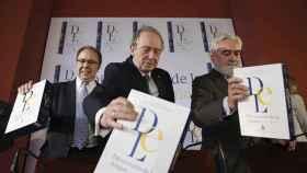 Fotografía de la presentación del diccionario de la RAE. EFE