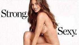 La actriz es portada de la revista Womens Health.