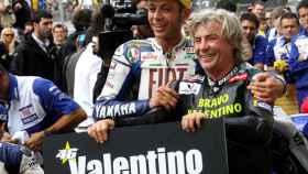 Valentino Rossi y Ángel Nieto en una imagen de archivo.
