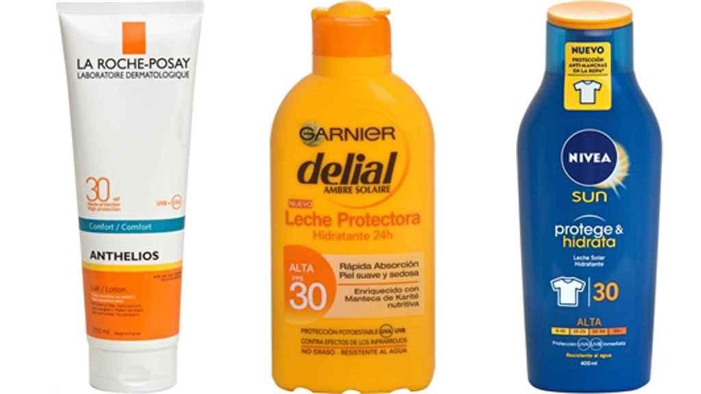 Las mejores cremas de sol, según la OCU.
