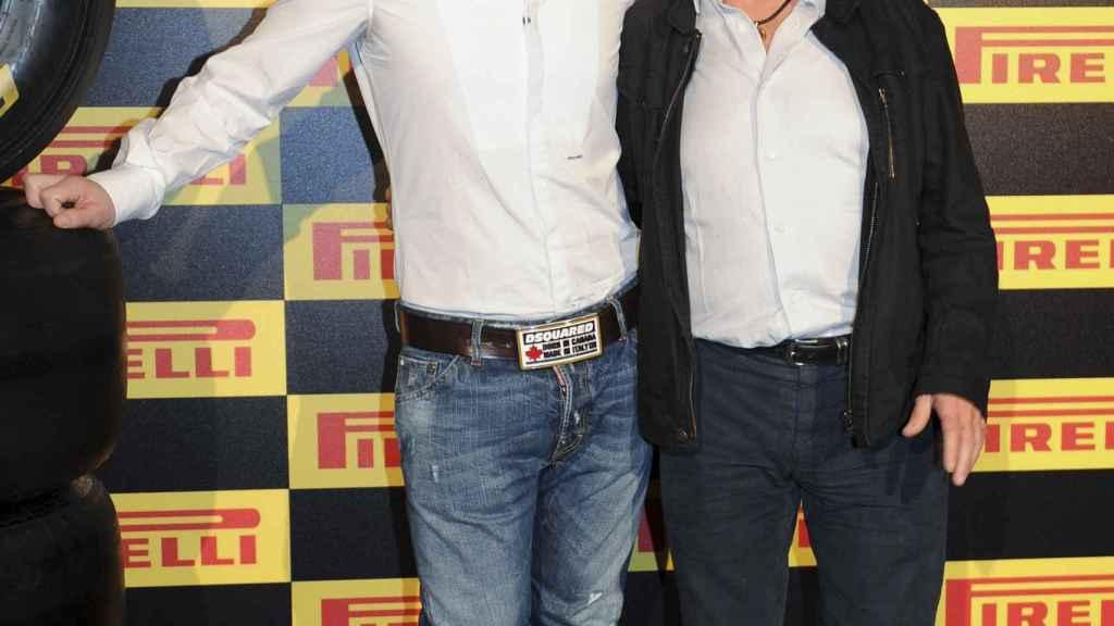 Ángel Nieto fue el padrino de Fonsi en su carrera en el motociclismo.