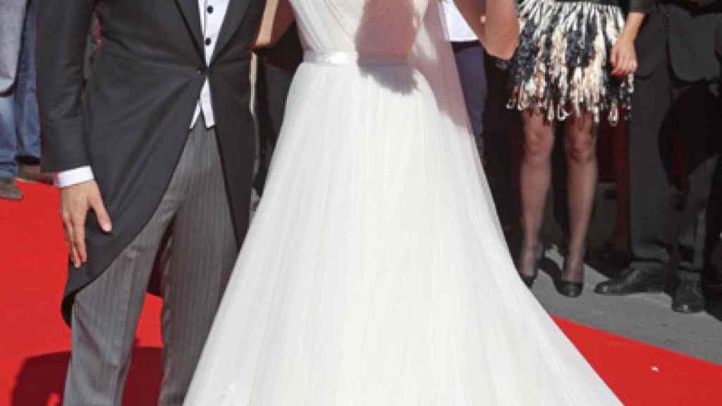 José María Manzanares y Rocío Escalona durante su boda en 2010