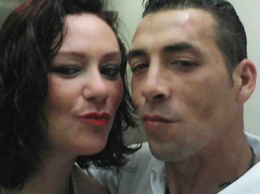 Ana Belén y Andrés la pareja de 'okupas'