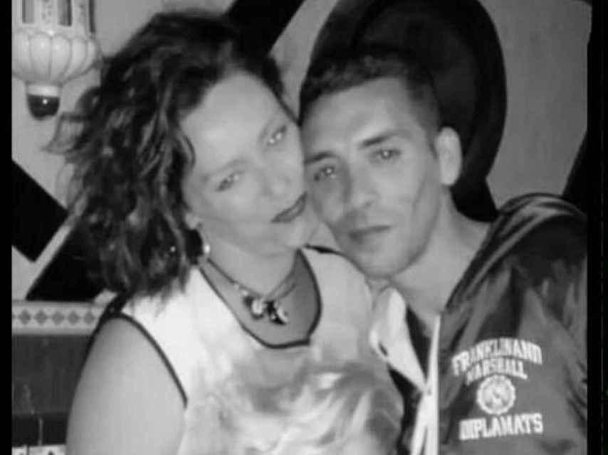 Ana Belén con su pareja, Andrés. El presunto asesino