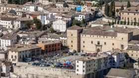 Imagen panorámica de la localidad guadalajareña de Pastrana