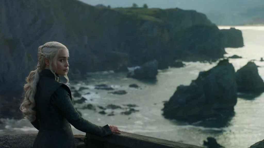 Daenerys Targaryen (Khaleesi) en Rocadragón en uno de los capítulos de esta séptima temporada. | Foto: Juego de Tronos (2011).