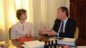 Foto alcalde con ministra