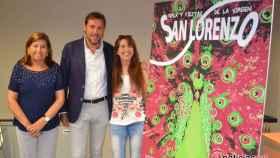 presentacion fiestas virgen san lorenzo valladolid cartel 1