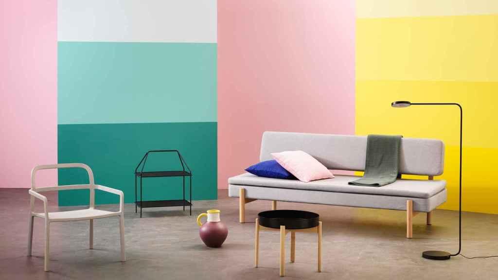Una de las nuevas propuestas de IKEA para nuestro salón este otoño.   Foto: IKEA.