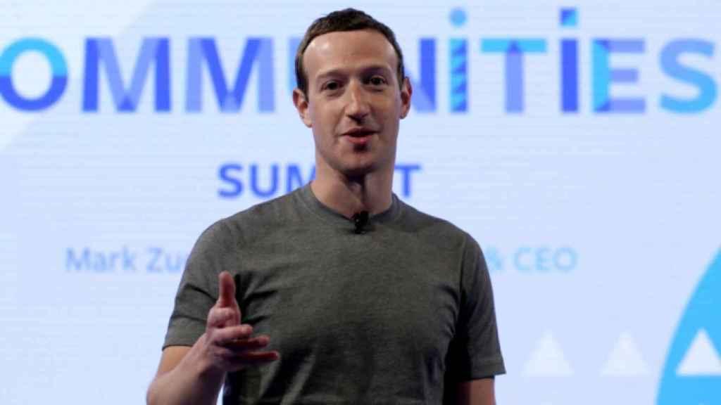 Mark Zuckerberg, fundador de Facebook.