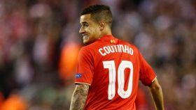 El jugador del Liverpool, Coutinho