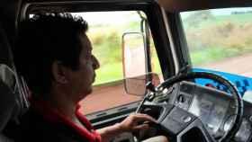 Imagen de archivo de un camionero.