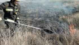 zamora bomberos benavente incendio
