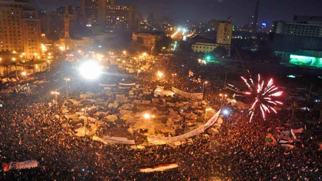 La televisión ha cubierto las 'primaveras árabes', un movimiento amenazador para los regímenes tradicionales.