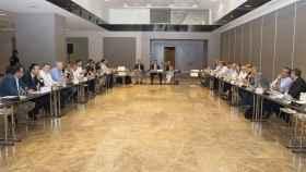 Asamblea General de la ACB celebrada este viernes en Madrid.