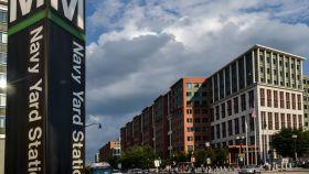 El barrio de Navy Yard, en Washington DC (EEUU).