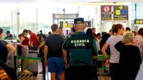 Seguridad del aeropuerto de El Prat.
