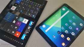 Android vs Windows: Los enfrentamos con la Galaxy Tab S3 y la Surface Pro 4