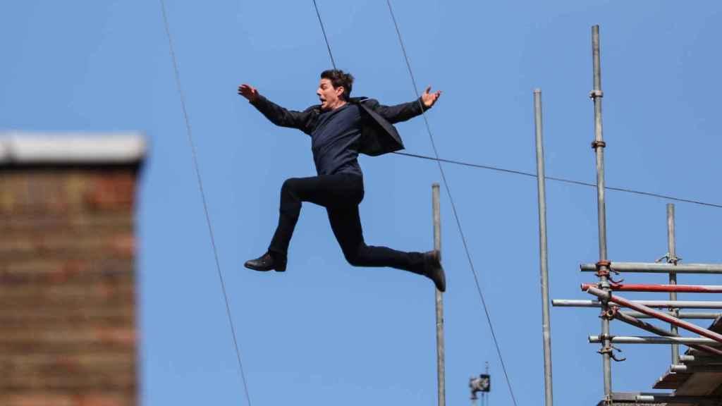 Tom Cruise sufre un accidente durante el rodaje de su nueva película