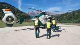 guardia civil rescate montana
