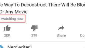 Ahora podrás saber cuánta gente está viendo un vídeo de Youtube
