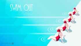 Este inmenso juego de puzles te reta a meterte en la piscina: Swim Out