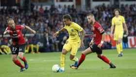 Neymar durante un partido del PSG. Foto: Twitter (@psg_inside).