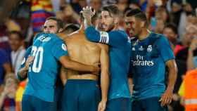 El Madrid felicita a Cristiano por su gol