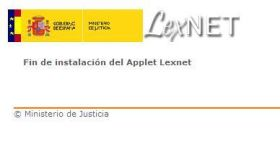 LexNET es un webmail para notificaciones judiciales.