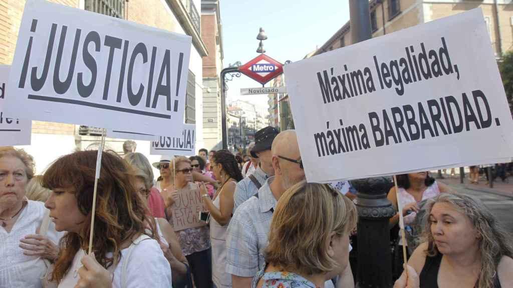 Plataformas en apoyo a Juana Rivas, en busca y captura por no entregar a sus hijos al padre.
