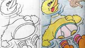 Adultos pintando libros infantiles ¿qué podía salir mal?