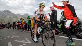 Mikel Landa, durante el pasado Tour de Francia.