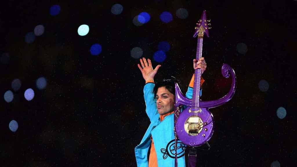 El cantante durante un concierto de la Superbowl en el Dolphin Stadium en Miami en 2007.   Foto: Getty Images.