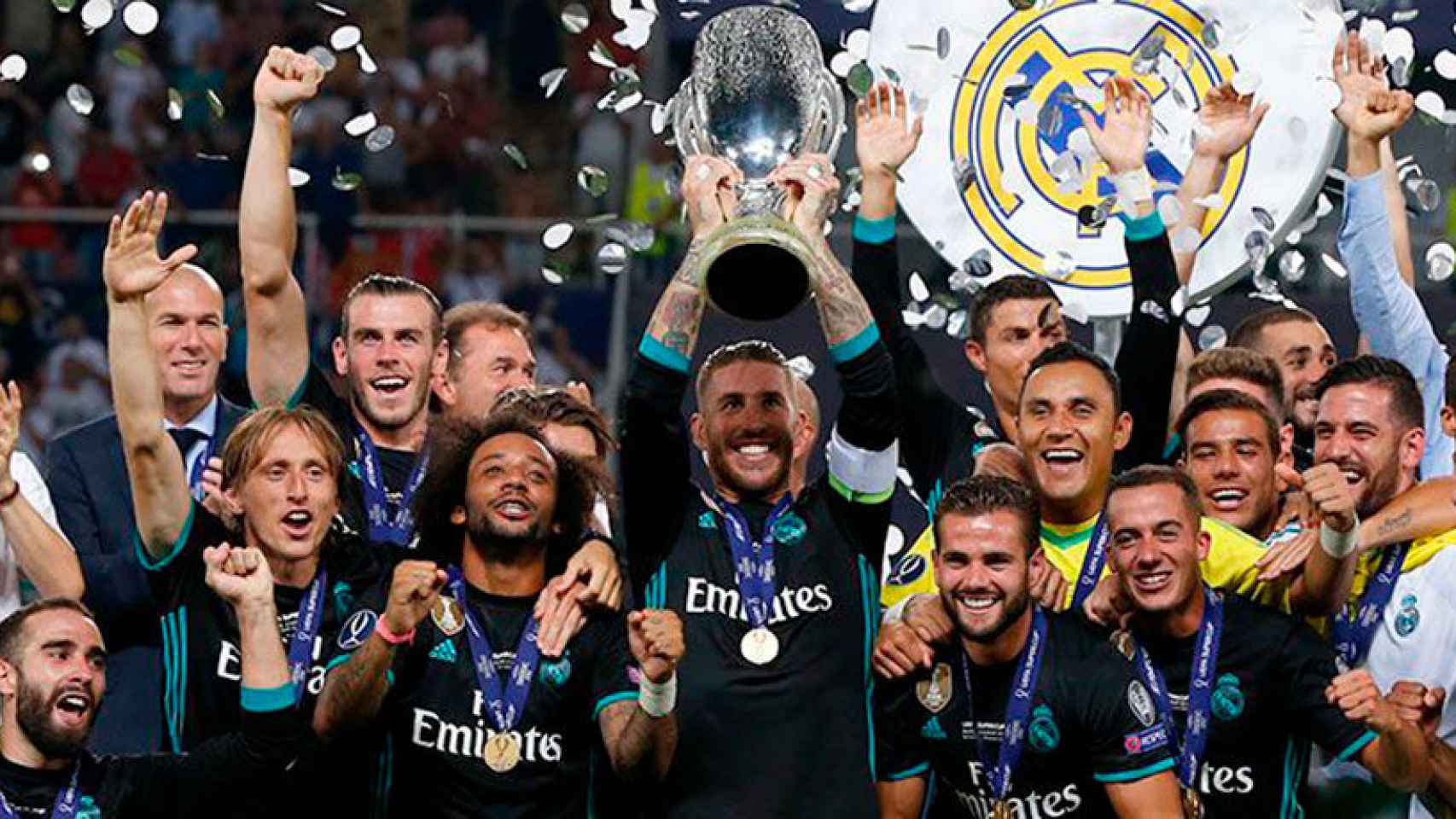El Real Madrid, campeón de la Supercopa de Europa