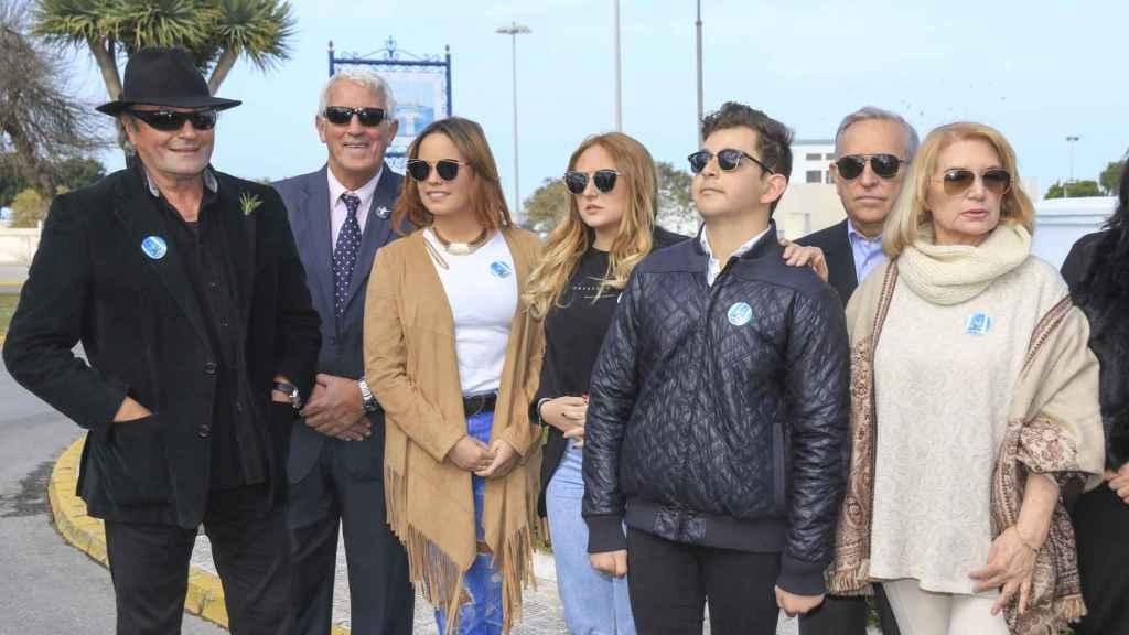 La familia Mohedano al completo, salvo Rocío Carrasco.