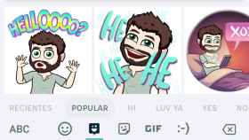 El teclado de Google incluye Stickers y soporte para Bitmoji