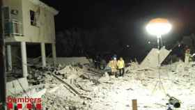 Un muerto y siete heridos en una explosión en una casa en Alcanar (Tarragona)