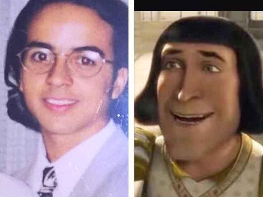 Hasta con personajes de Shrek se ha comparado.