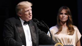 Melania y Donald Trump en una imagen de archivo.