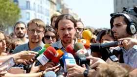 Pablo Iglesias apostó este viernes por trasladar cariño y una caricia a Barcelona tras la barbarie.