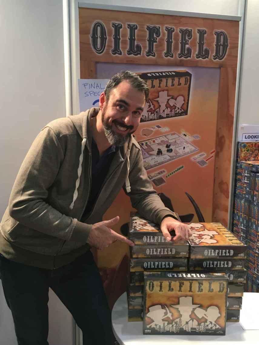 Paco Yánez, autor de Oilfield y Zampa la Granja, prepara su tercer juego.