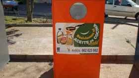 contenedor reciclaje aceite noticias León